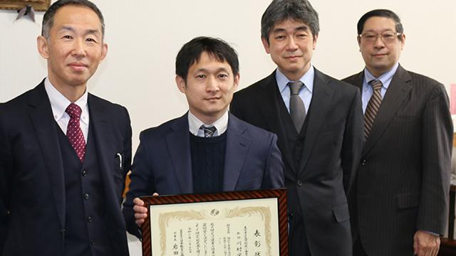 附属小金井中・川村栄之教諭(数学)、日教弘教育賞奨励賞を受賞