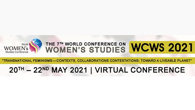 第7回女性学研究世界会議(東京学芸大学共催事業)がスリランカ・コロンボにて開催されます(2021年5月20日-22日)。