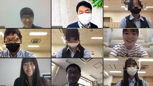 高校生が日本語厳禁の英語集中演習(ITC)をオンラインで体験!