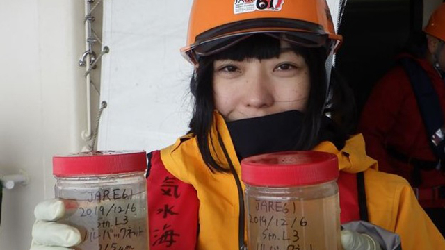卒業生による「南極せんせいのメッセージ -教員南極派遣プログラムの活用-」の講演が行われました