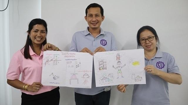 「カンボジア学校保健サービス創生事業」第5回 学校保健教官研修会を開催しました。