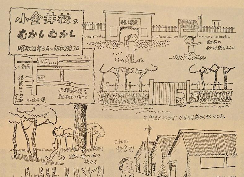 小金井校のむかしむかし(昭和22~23年頃)